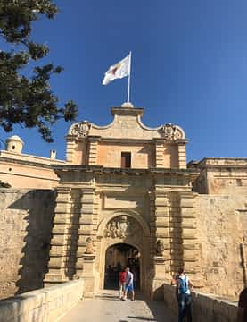 one door of Mdina, the silent city